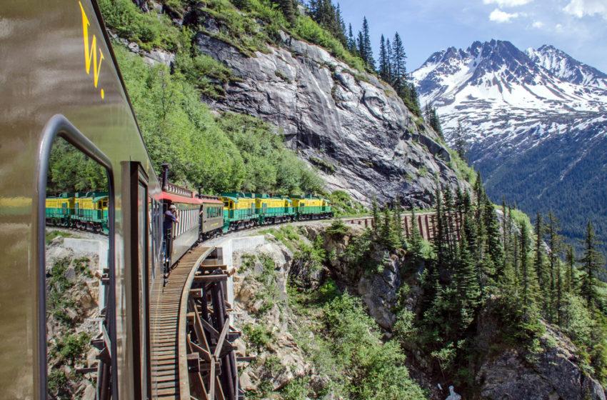 The scenic train rides in America