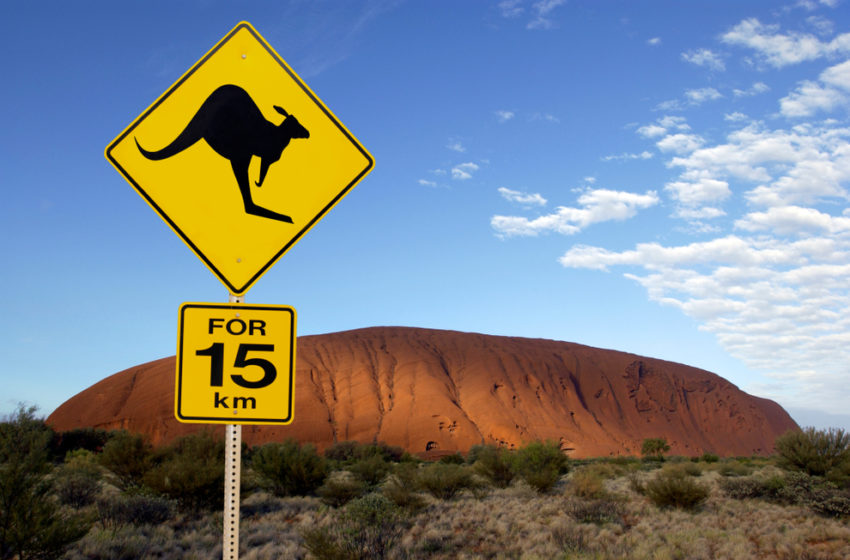 A voyage in Australia is like a round-the-world trip